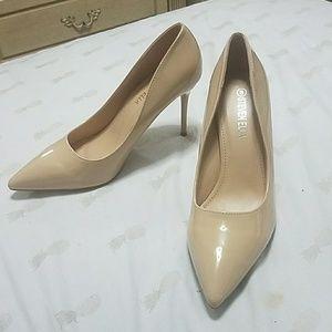 Steven Ella Shoes - Nude stilleto heels